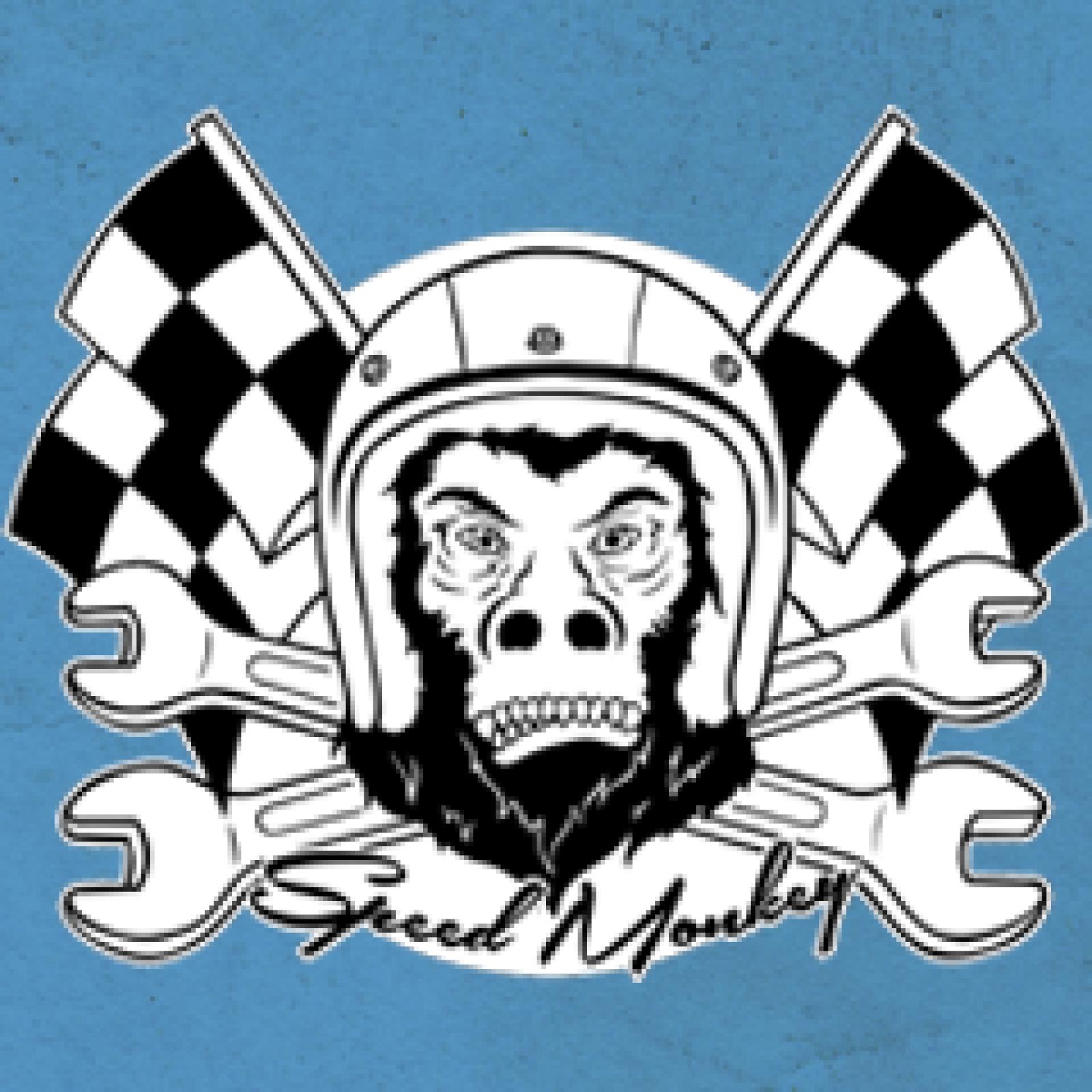 speed monkey shirt prints